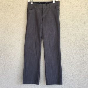 💋3/$15!  Lee Platinum No-Gap Waist Gray  Sz 4P